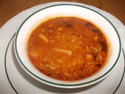 Maltese Fish Soup Aljotta