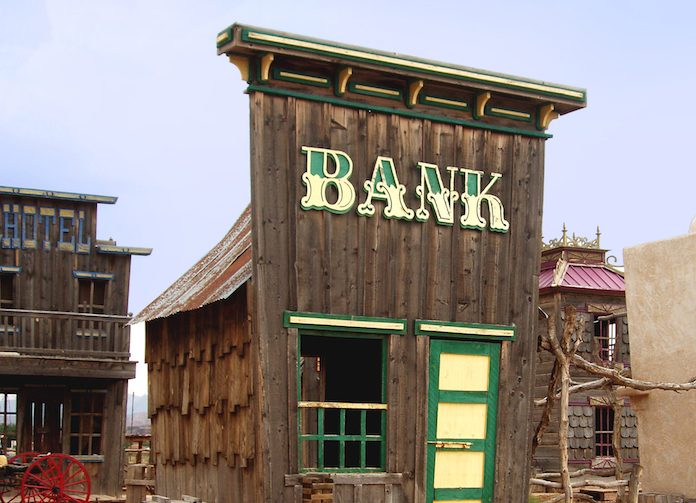 Old Wooden Bank