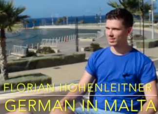 Florian Hohenleitner - German in Malta