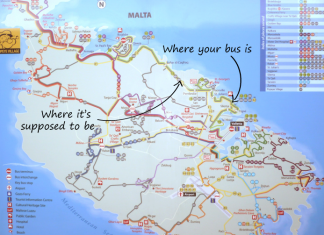 Malta Public Transport Fails