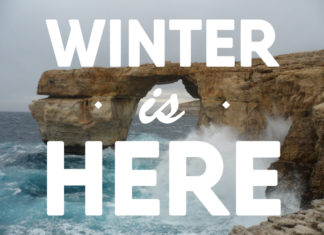 Winter in Malta